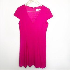 Eliza J Pink NWT A-line Short Sleeve Dress